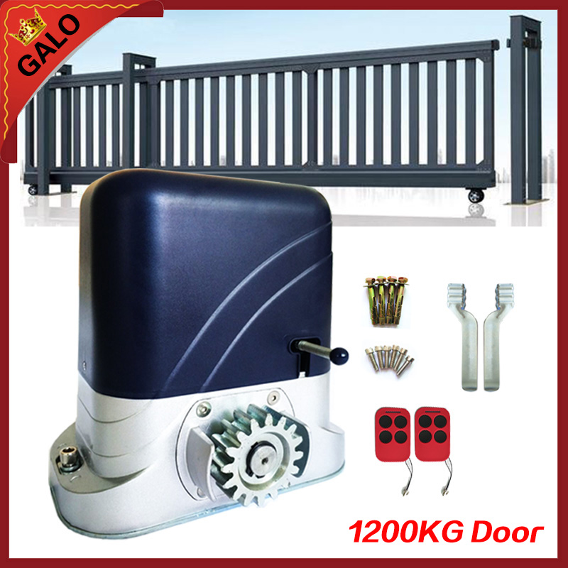 Heavy Automatic sliding gate opener drive gate for 2600lbs 1200kg door gate with remote controller move Gate Opener цены