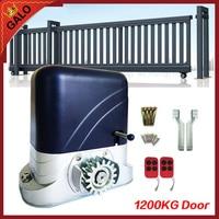 Pesado abridor de puerta corredera automática Puerta de unidad para 2600lbs 1200 kg puerta con mando a distancia mover la puerta abridor