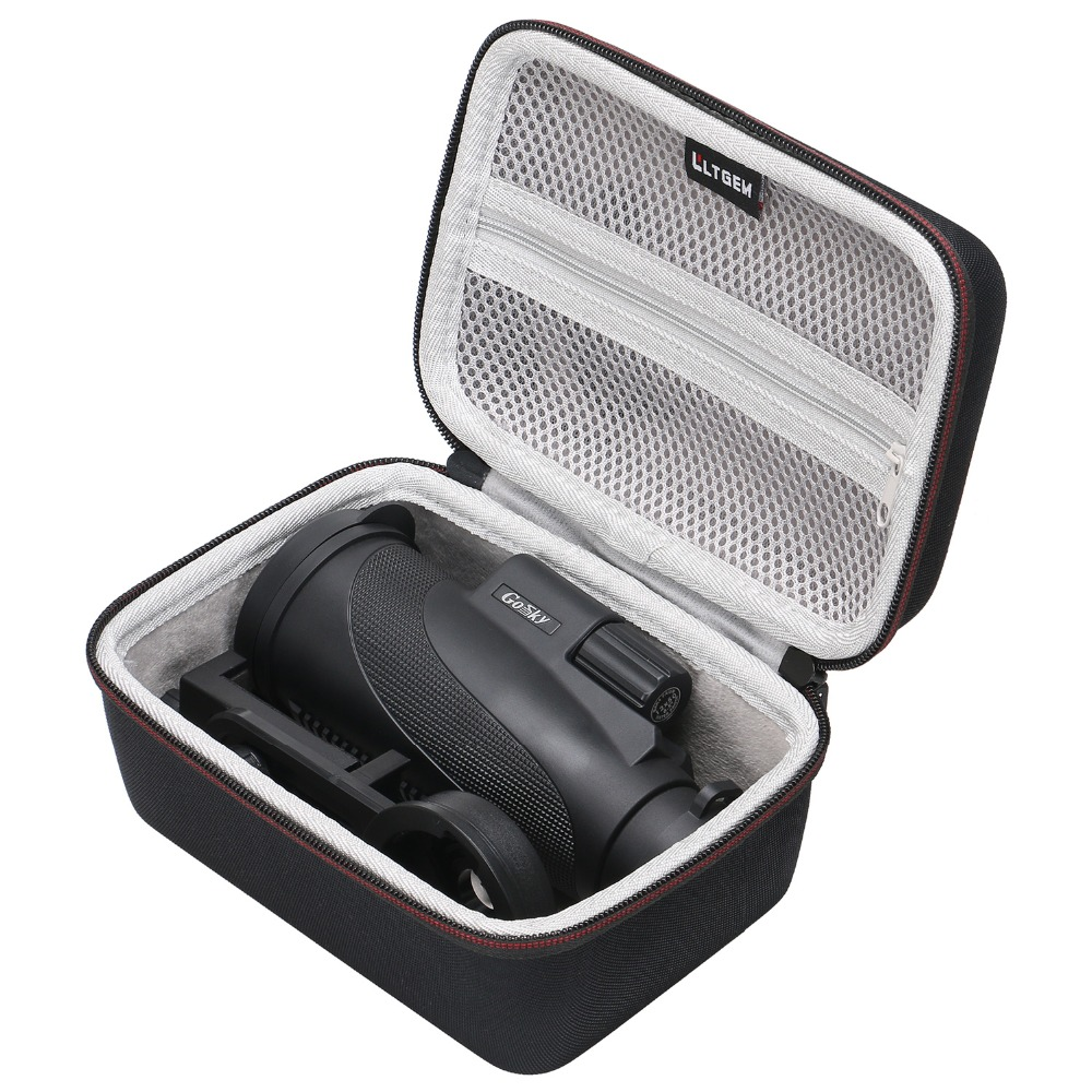 LTGEM Hard Carrying Case Compatible For Gosky Titan 12X50 High Power Prism Monocular Telescope