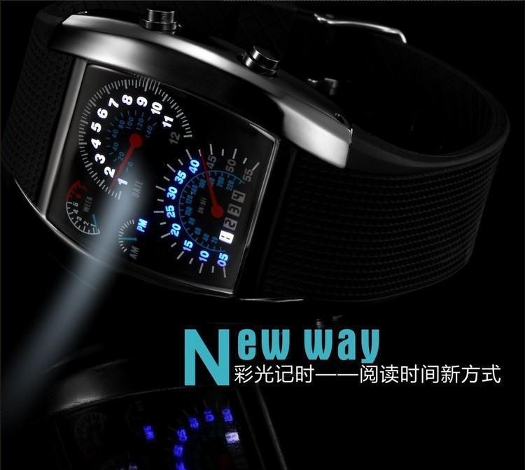 LED digital watch (6)