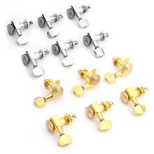 6 шт. 6R гитарные блокировочные тюнеры для электрогитары, Колки для JN-07SP, серебряные колышки