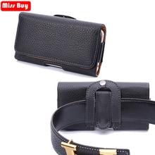 Missbuy Phone Pouch Waist Case For One Plus 6 5 5t 3 Oneplus6 Leather Phone Cover For Oneplus 6 5 5t 3 Oneplus5 Holster Belt Bag цена