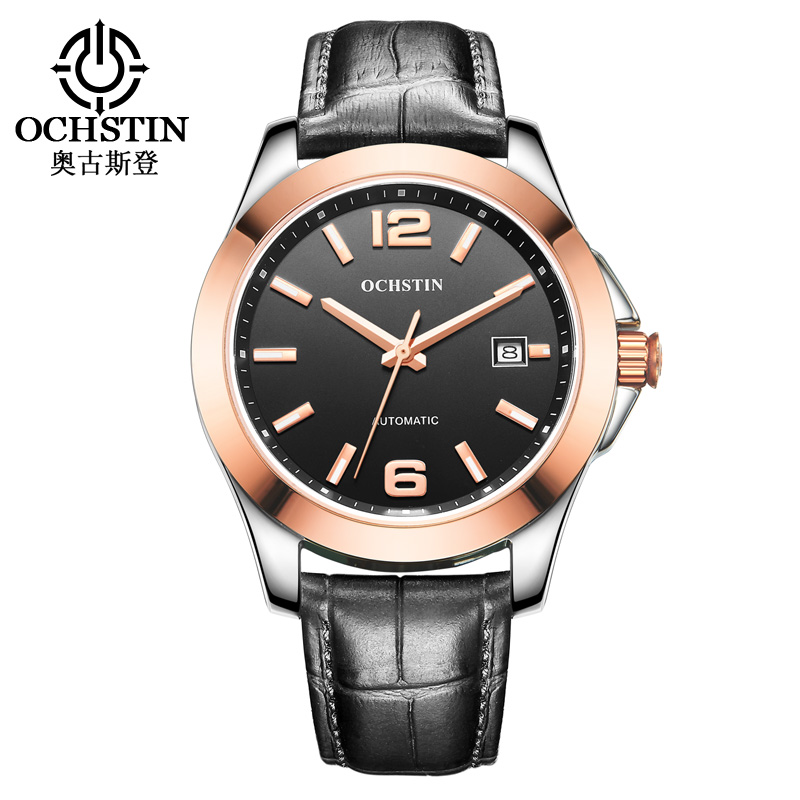 Men Watches Japan Self-wind Automatic Mechanical Watch Genuine Leather Sapphire Dial Clock Waterproof Hodinky Relogio MasculinoMen Watches Japan Self-wind Automatic Mechanical Watch Genuine Leather Sapphire Dial Clock Waterproof Hodinky Relogio Masculino