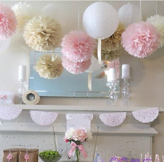 10inch 25cm Hanging Decorative Flower Ball Centerpieces Silk Rose