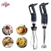 ITOP 3pcs/set Handheld Immersion Blender Commercial Mixing Machine High Speed Blender Food Mixers 1 Blender + 1 Whisk + 1 Tube