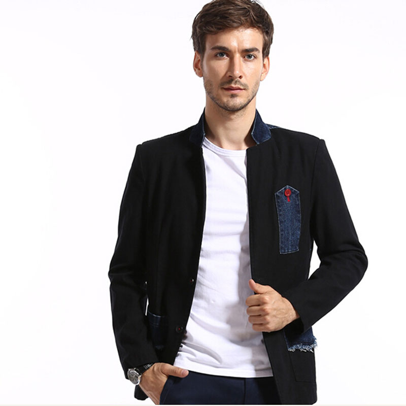 black single men in jean Select from new collection suits & blazers for men available at jabongcom  shop for latest designs  rip by rajesh pratap singh blue double breast color  block denim jacket 9500  mast & harbour black single-breasted casual  blazer.