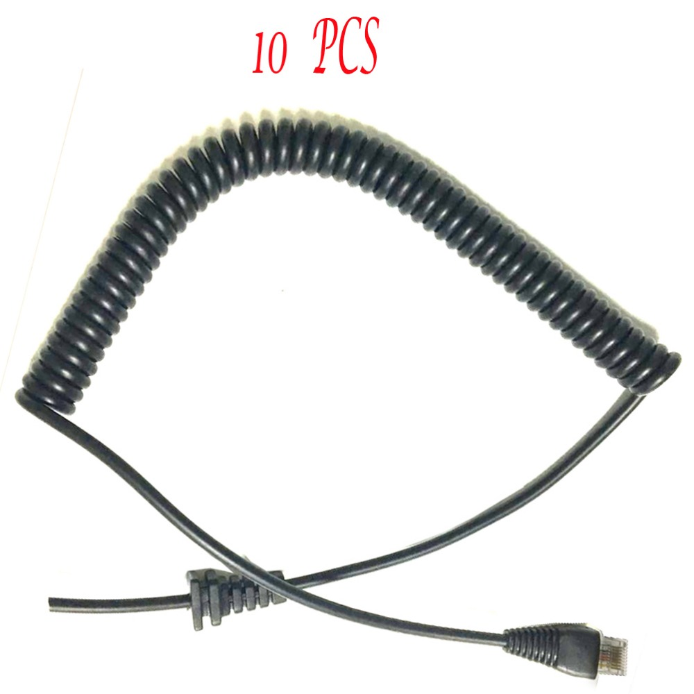 10PCS Generic Replacement Mic Cable Cord Wire for Yaesu MH