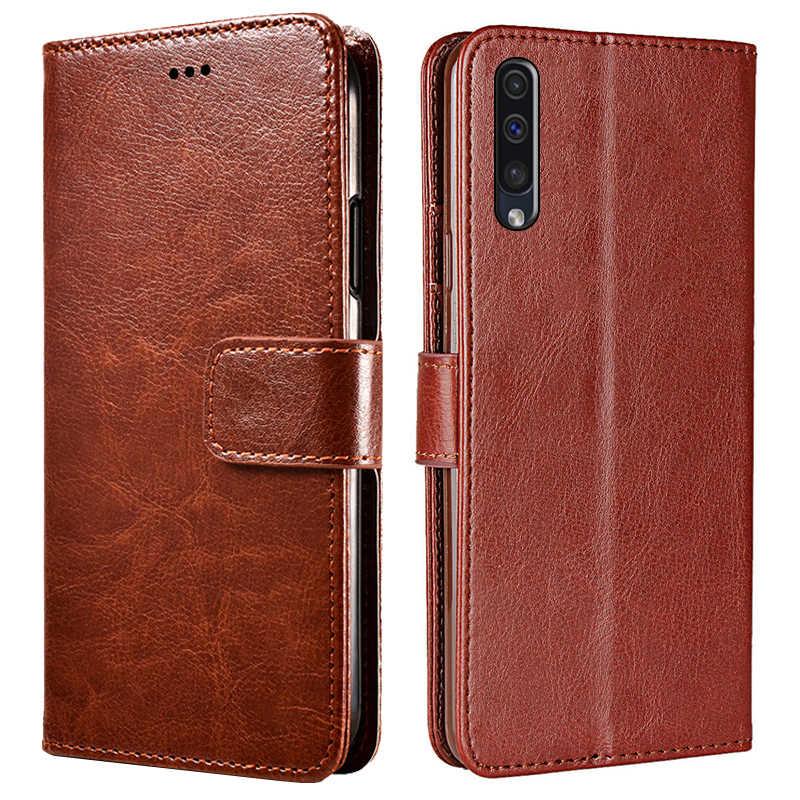 Samsun A50 Kılıf Flip deri cüzdan Kapak Samsung Galaxy A70 A30 A50 2019 telefon kılıfı Için Galax Üzerinde Bir 50 30 40 70 50A 30A 70A