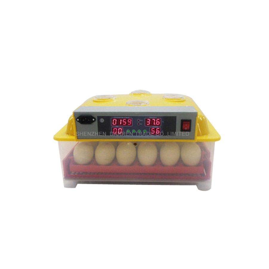 36 Eggs Incubator Automatic Chicken Egg Incubadora Poultry Hatcher Chicken Plucking Machine WQ-36