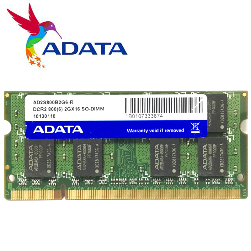 AData Laptop Notebook  2GB   2G  PC2 Ddr2 6400S 5300S 667 800 MHZ 800MHZ  667Mhz  Laptop Notebook  Memory RAM