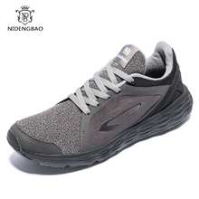 NIDENGBAO Men Sneakers Fashion Full Mesh Breathable Casual Shoes Top Rubber Sole Super Comfortable Big Size 49 50
