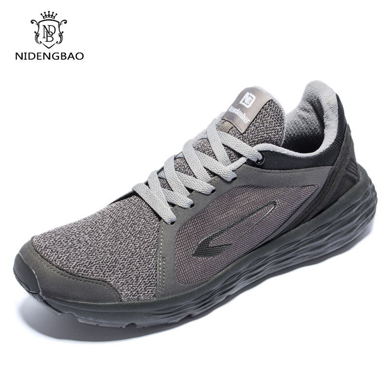 NIDENGBAO Men Sneakers Fashion Full Mesh Breathable Men Casual Shoes