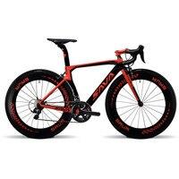 Ультра легкий углеродное волокно дорожный мотоцикл 700C дорожный мотоцикл 22 скорость 6800 комплект углеродное волокно дорожный велосипед угле