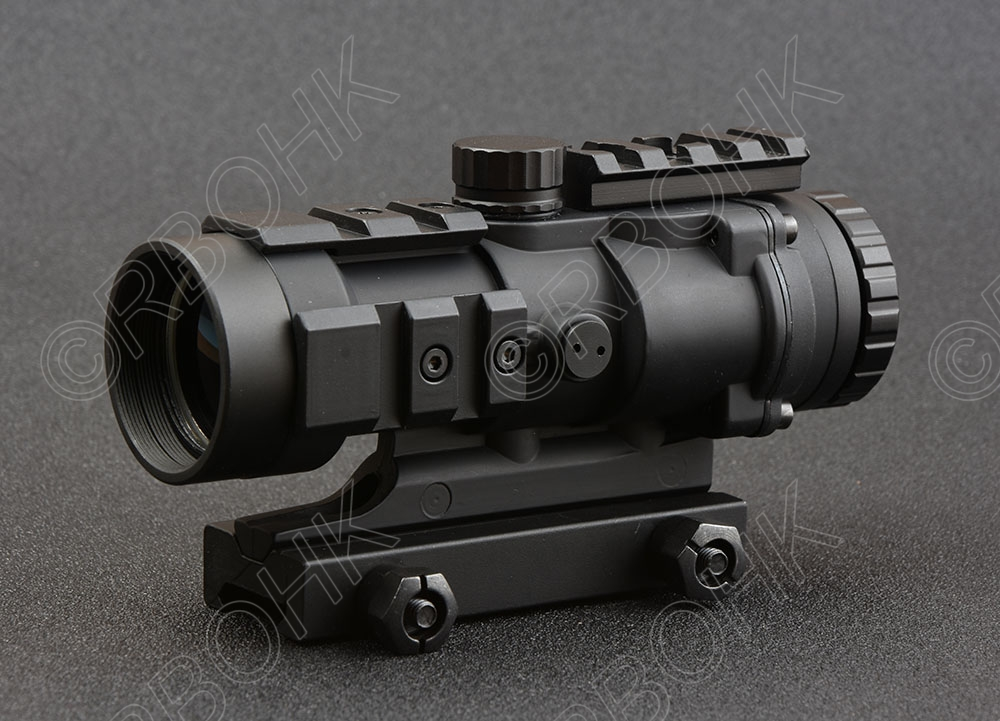Shooin tactical 4x32 rifle scope sight Multifunctional Picatinny  for picatinny rail mount red dot base Aluminium black M7368 mini rmr style 1x red dot sight scope for picatinny rail and glock base mount key switch 6 moa black m6293