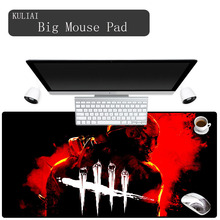 XGZ 3D Print Dead By Daylight Gaming Mouse Pad Rectangular Non-slip Gamer Notebook 400X800X3MM Large Mousepad for Mass Effect
