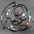 Vela de Ignição CDI Bobina De Fiação Elétrica completa Kits Para 50cc 70cc 90cc 110cc 125cc 140cc ATV Quad Pit Dirt Bike Buggy Go kart