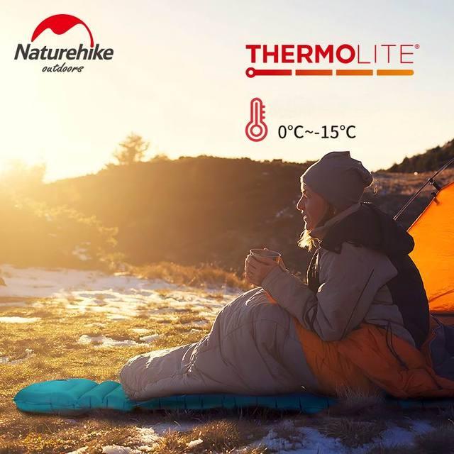 Naturehike Winter Sleeping Pad Ultralight Inflatable air Mattress 2