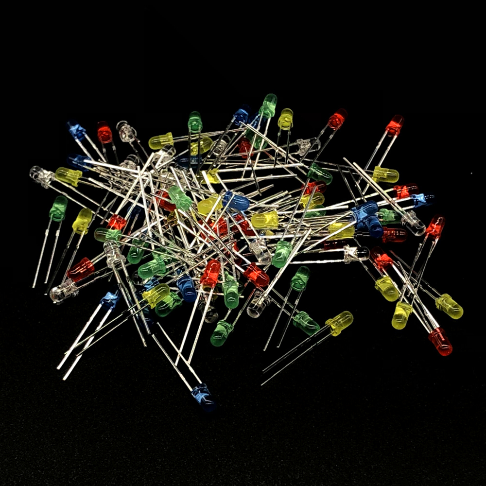 Film-Resistor Assortment-Kit Electrolytic-Capacitor-Ceramic-Set Led-Diodes Metal Diy
