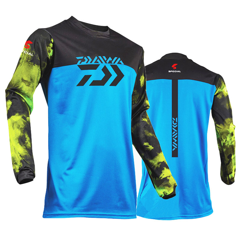 Daiwa 3 Style 2019 New Style Fishing Clothing M-3xl Size Daiwa Clothing Fishing Shirt Anti-uv Fishing Clothes Dawa Jacket