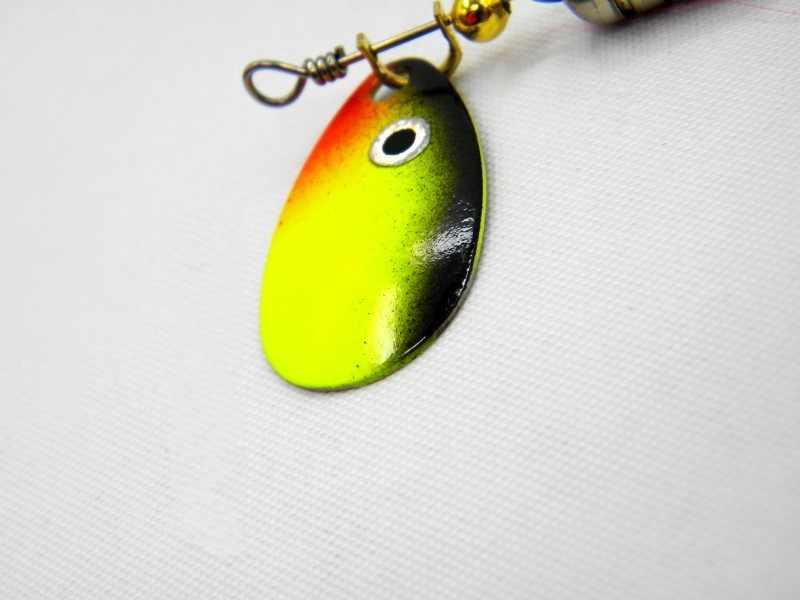 เหยื่อตกปลา6G-6 #ตะขอช้อนw obbler p escaประดิษฐ์ฮาร์ดเหยื่อตกปลาแก้ไขปัญหาSwimbaitรอกทั้งหมดความลึก