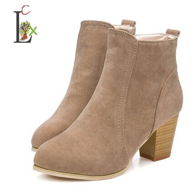 De Cilindro amp; Corto Zapatos Tacones Autumn Winter Lcx Altos Botas qtH0O0