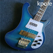 Blue Rick 4003 model Electric Bass guitar,  4 strings Bass Guitarra, All Color are available, Wholesale