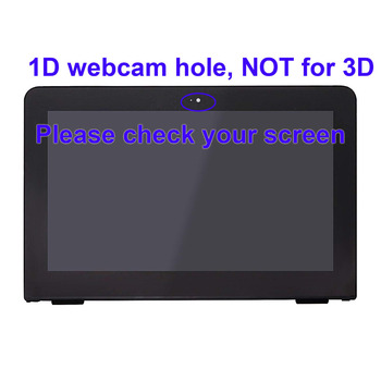 For HP Pavilion x360 11-u048tu 11-u003nt 11-u058tu LCD Display Touch Screen Glass Assembly Replacement 11.6 inch HD