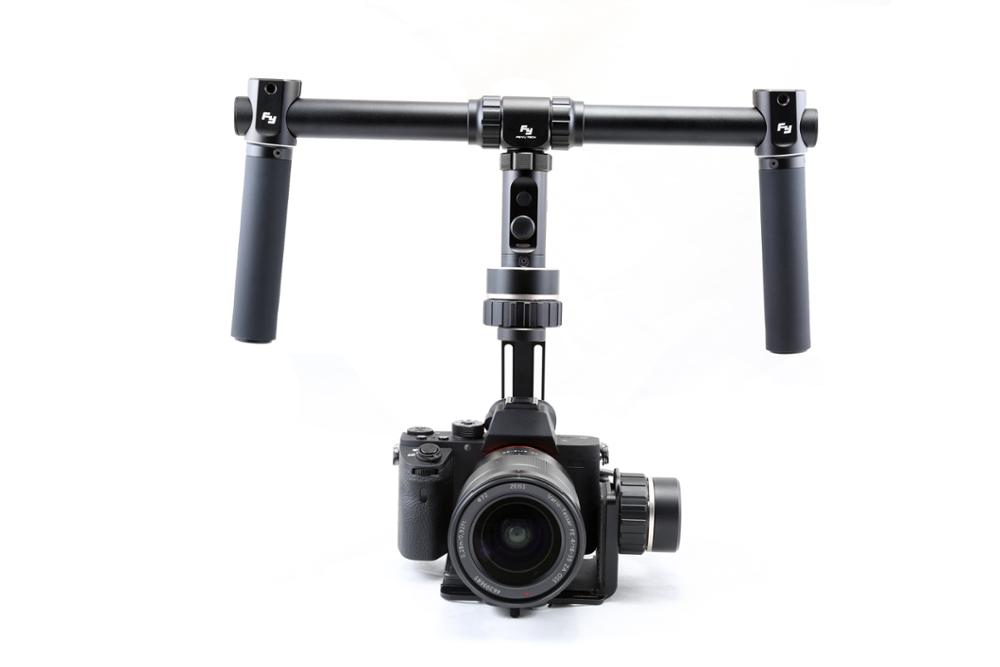F17006 Feiyu FY-MG MG 3 Axle Brushless Gimbal 360 Stabilizer for Mirrorless Cameras A7 A7R A7S A7 II A7S II A7R II GH4 / NEX-7 bestablecam h4 rtf brushless handheld encoder mirrorless digital camera gimbal gyro stabilizer for gh3 gh4 a7s nex5 bmpcc