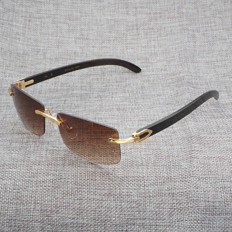 b8488d59ae6 Wood Sunglasses Black Mix White Buffalo Horn Retro Styple Shades Men ...