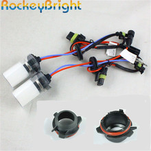 Rockeybright 35 вт автомобильные HID ксеноновые лампы фар для BMW 3 серии E39/528 525 hid лампа + H7 hid держатель лампы патрон патрона лампы