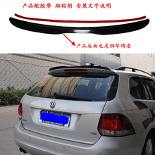 цена на For Volkswagen VW Golf 6 MK6 Wagon Spoiler 2010-2013 model MK6 light High Quality ABS Material Car Rear black spoiler