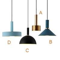 Nordic Simple Pendant Lights Modern Bedroom Bedside Dining Room Pendant Lamp Bar Cafe Individual Creative Lighting