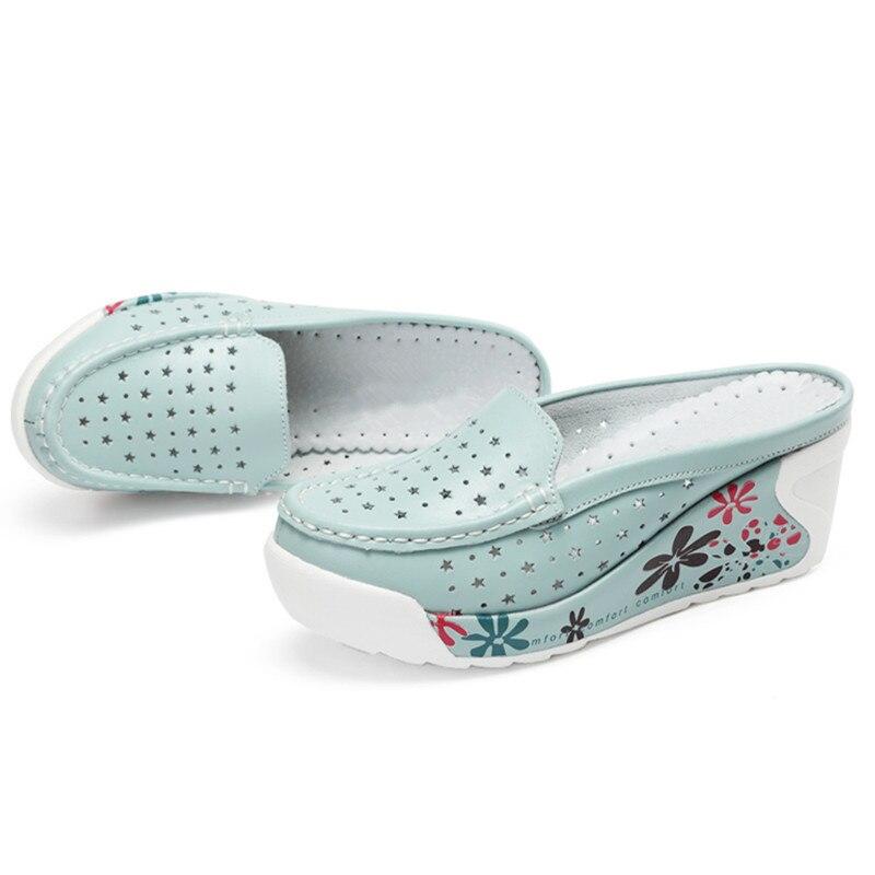 Image 5 - GKTINOO Summer Woman Shoes Platform Slippers Wedges Flip Flops Women High Heel Slippers For Women Casual Sandals Female ShoesSlippers   -