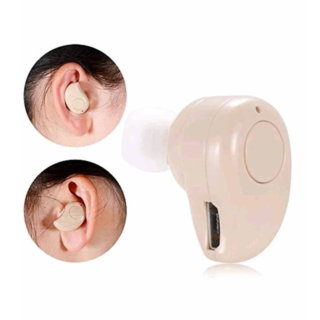 S530 Plus Mini Wireless Bluetooth Earbud Earphone In Ear Small Headset with Mic Invisible Earpiece Hands-free for Smartphones