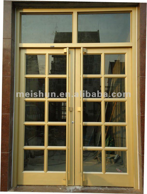 Aluminum frame glass door used commercial MS 1102-in Doors from Home ...