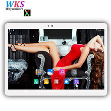 Free shipping 10 inch Android 7.0 tablet pc octa core 4GB+64GB 1280*800 IPS Dual SIM WIFI Bluetooth Smart tablets pc MID 10 10.1