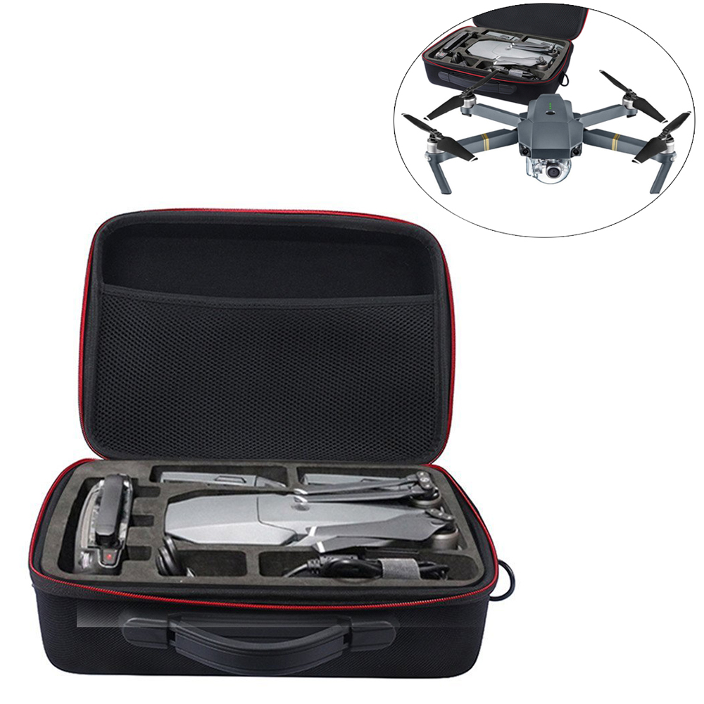 FashionHard Carrying Box Hardshell Suitcase for DJI Mavic Pro Drone, Charger, Propellers And Accessories Shoulder Waterproof Box rcyago safety shipping travel hardshell case suitcase for dji goggles vr glasses storage bag box for dji spark drone accessories