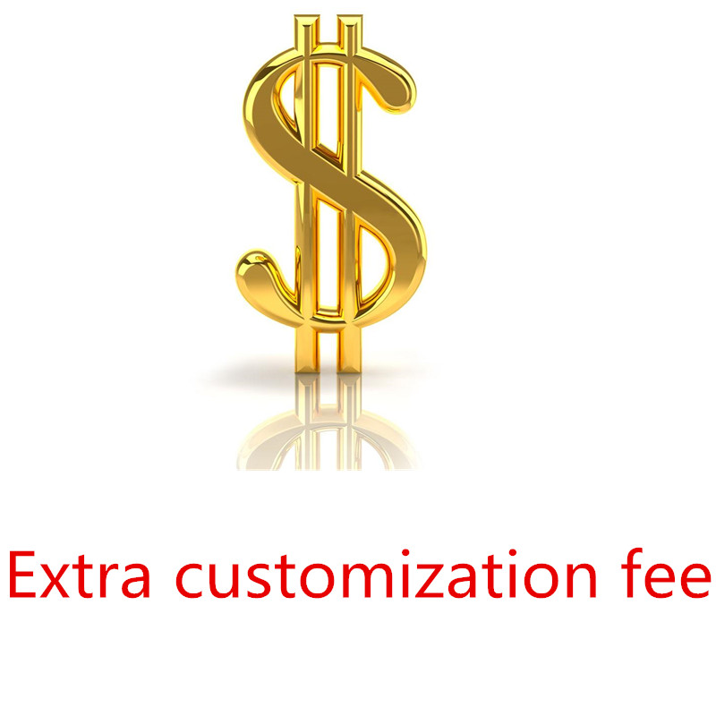 Extra freight Extra Customization Fee Tailored for Adults and Kids