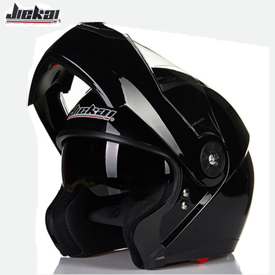 JIEKAI 115 Modular Flip Up Motorcycle Helmet Washable Full Face Motorbike Racing Helmets Double Visor Moto Casque Cascos lexin 2pcs max2 motorcycle bluetooth helmet intercommunicador wireless bt moto waterproof interphone intercom headsets