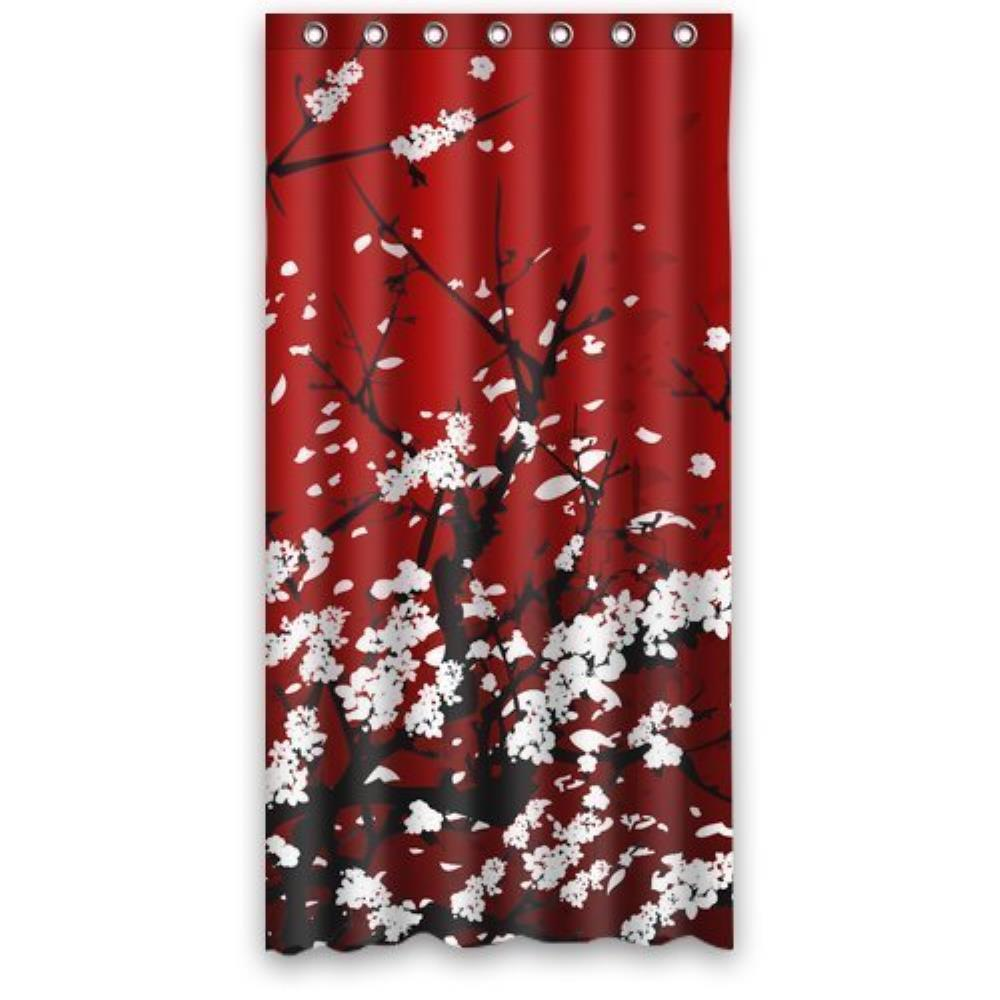 Wonderful Aliexpress.com : Buy Custom Japan Oriental CherryRed Home Decorative Custom Shower  Curtain Waterproof Bathroom Shower Curtain 36(W)x72(H) Inch From Reliable  ...