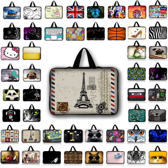 Eiffel Tower Laptop bag 1011.6121313.3141515.61717.3for ipad/macbook air pro retina laptop notebook case men women bag