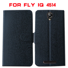 Fly IQ4514 Case,High Quality Flip Leather Back Cover Fly IQ 4516 4503 4404 4410 440 4416 4413 455 4415 4501 Phone Case Cover