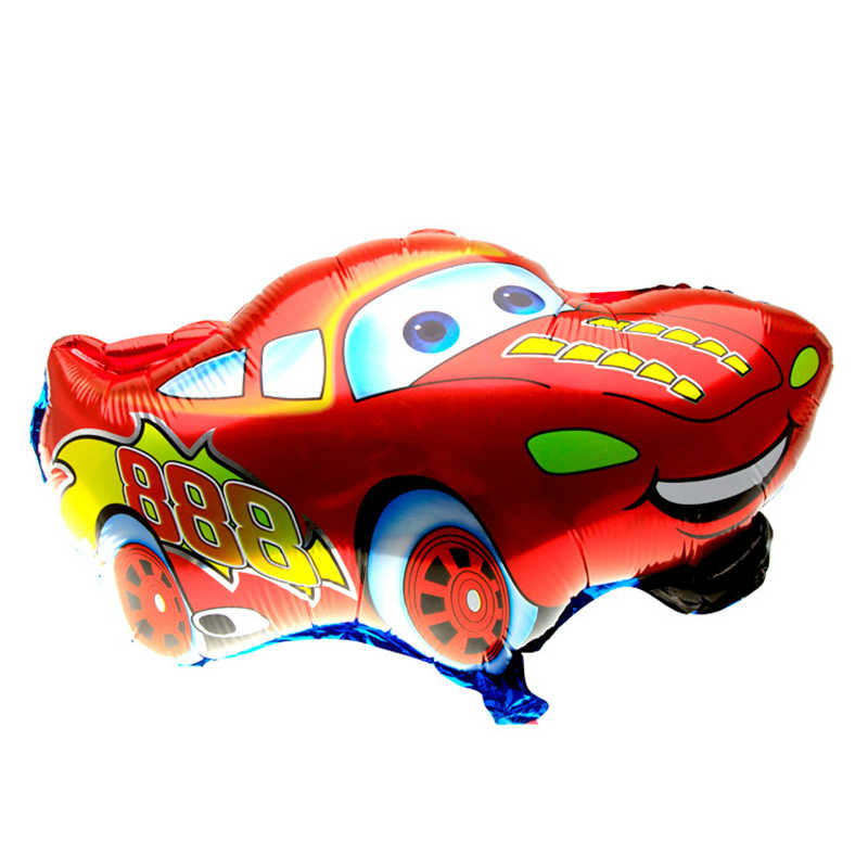 1PC Good Quality Red Color Car Foil Balloon&Helium Balloon Cartoon Car Balloons Wedding or Birthday Decoration Toy