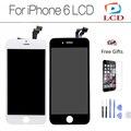 Aaa + 4.7 polegada display lcd de tela cheia para o iphone 6 para iphone6 com digitador touch 6g assembléia + ferramentas + Vidro Temperado protetor