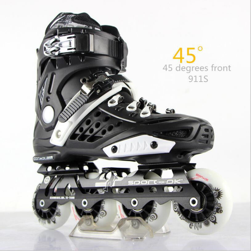 Professional Inline Skate Adult Roller Skating Shoes High Quality Free Style Skating Patins Ice Hockey Skates clearaudio professional analogue toolkit