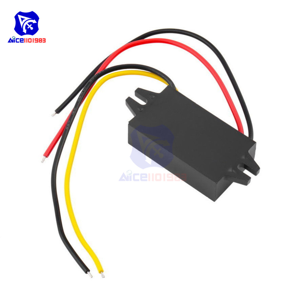 Image 4 - DC/DC Buck Converter Regulator 12V to 5V 3A 15W Car Monitor Power Supply-in Integrated Circuits from Electronic Components & Supplies