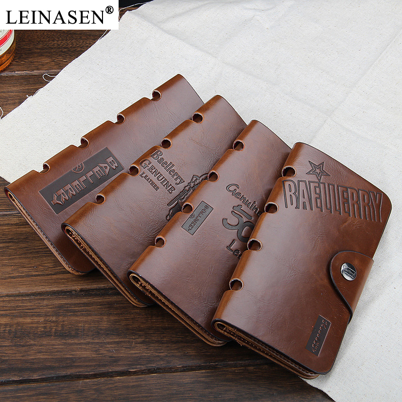 New Business Style pu Leather Men Clutch Bags Fashion Men's wallet Casual Long Purses Card Holder Hot Style Standard Coin Purses lorways 016 stylish check pattern long style pu leather men s wallet blue coffee