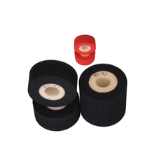 Black Diameter 36mm Height 32mm black solid ink roller for printing machine 1 set 9 peices heidelberg offset printing machine gto52 brakes outer diameter 129mm