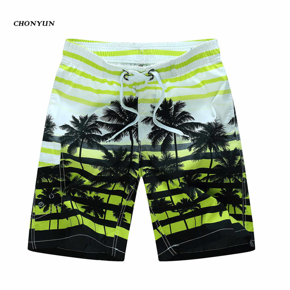c61c964344 ... Hawaii Hot Sale Men's Beach Shorts Quick Dry Swimming Wear Homme Bermuda  Summer Board Shorts Print ...
