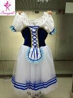 2015 New Arrival Royal Blue Giselle Ballet Tutu Royal Blue Romantic Ballet Tutu Blue Long Classical